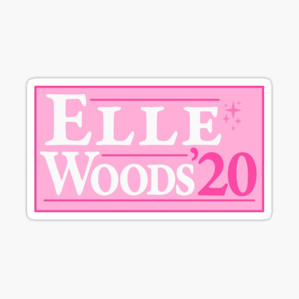 Elle Woods 2020 Sticker
