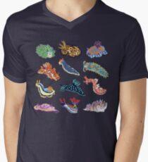 Nudie Cuties T-Shirt mit V-Ausschnitt