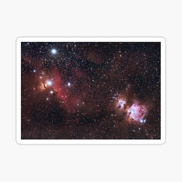Orion Nebulas Sticker