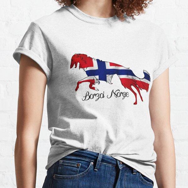 Borzoi Norge Classic T-Shirt