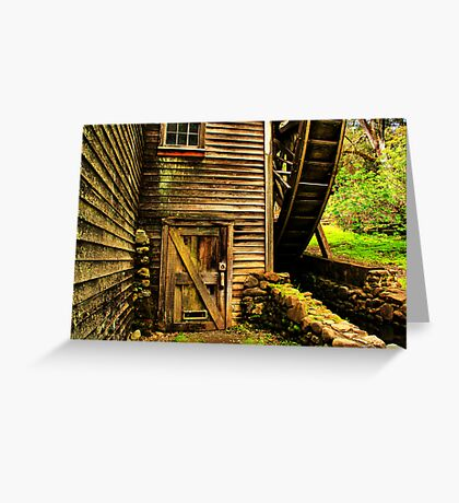 Door to the Old Mill Greeting Card