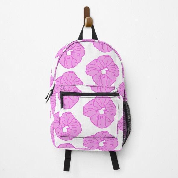 Pink Scrunchie Backpack