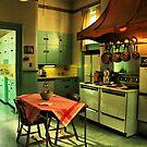 A Vintage Kitchen by Barbara  Brown