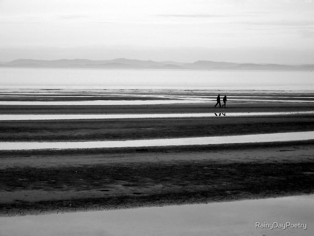 Walk Along The Beach by RainyDayPoetry