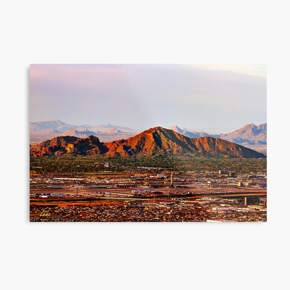 Camelback Mountain Metal Print