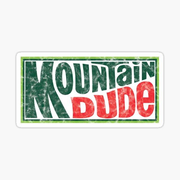 Mountain Dude Sticker