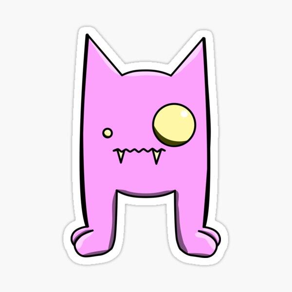 Pink Demon Friend  Sticker