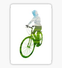 Green Transport 3 Sticker