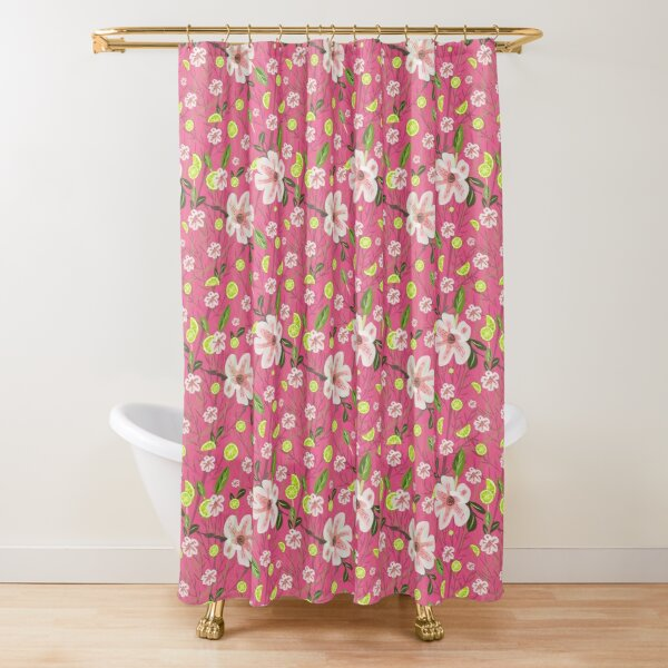Pink + Therapeutic Shower Curtain