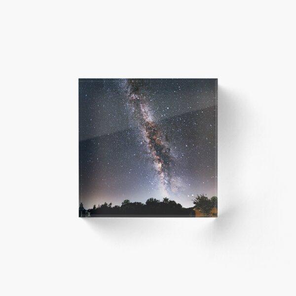 Milky Way Acrylic Block