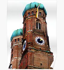 Frauenkirche Munich Poster