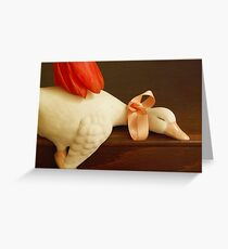 Tender touch Greeting Card