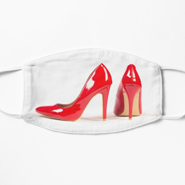 red high heel shoes Mask