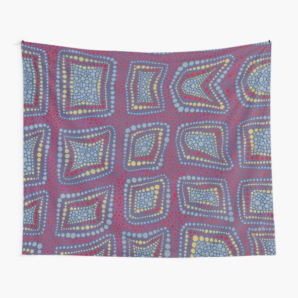 Magic LB Dot Square (a ShalalaDesign) Tapestry