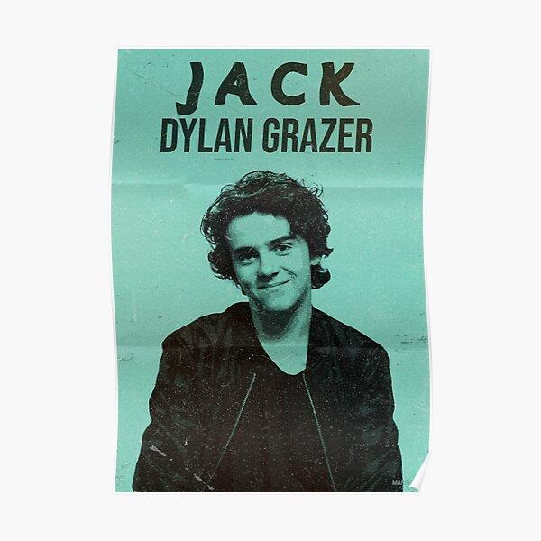 Jack Dylan Grazer   Retro Póster