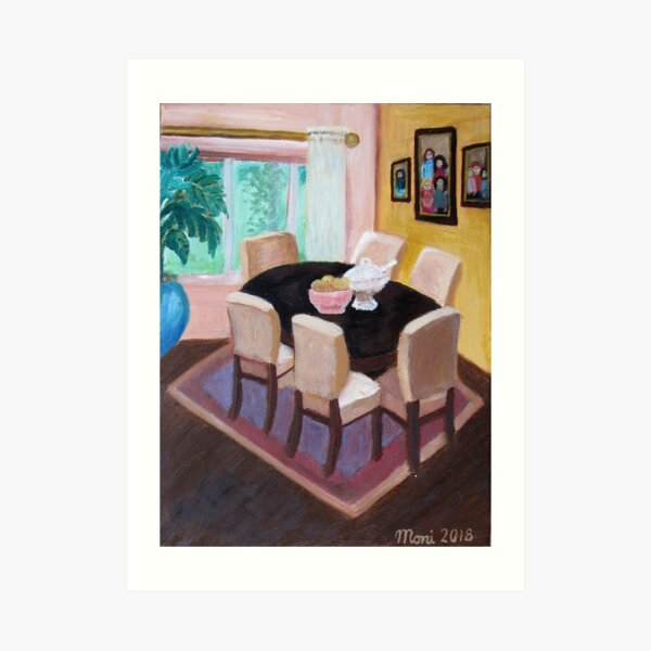 Dining Room for Strong Families Art Print