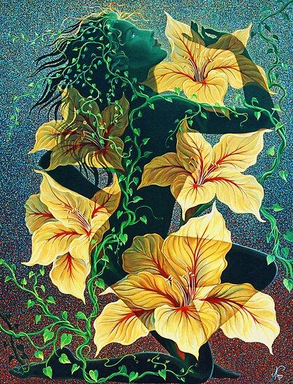Flowering Beauty by Jan Betts
