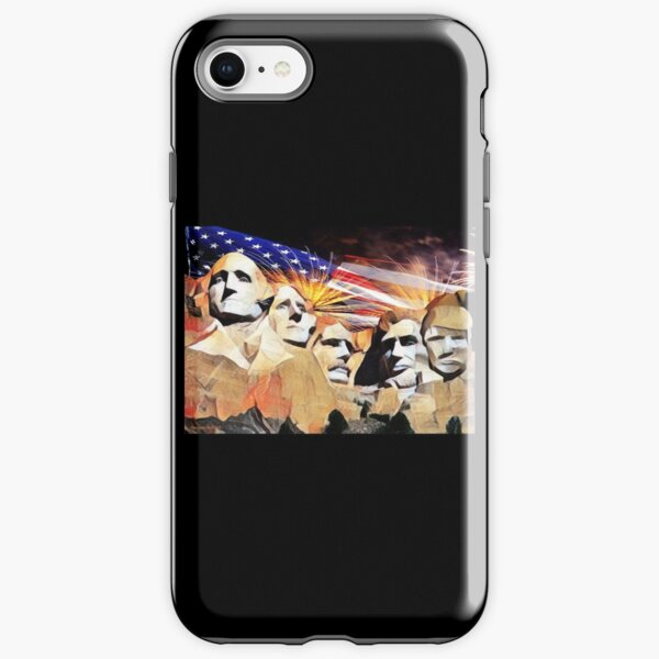 Mt Rushmore 4th of July iPhone Tough Case