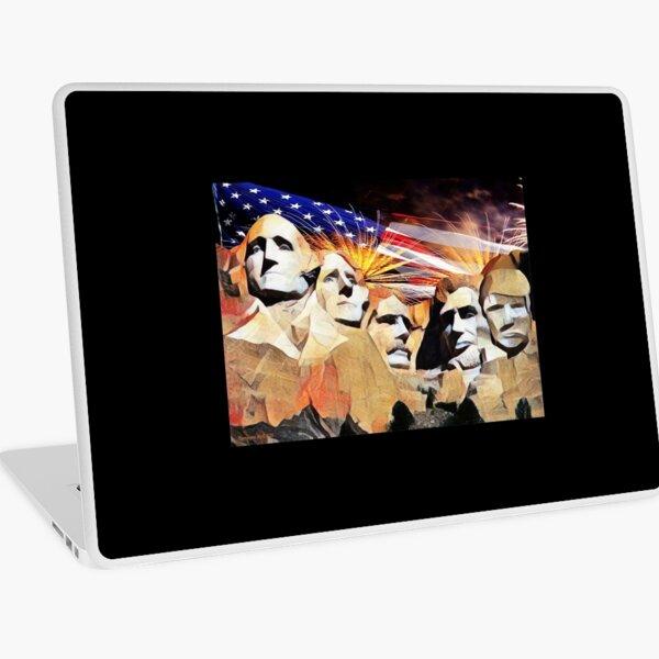 Mt Rushmore 4th of July Laptop Skin
