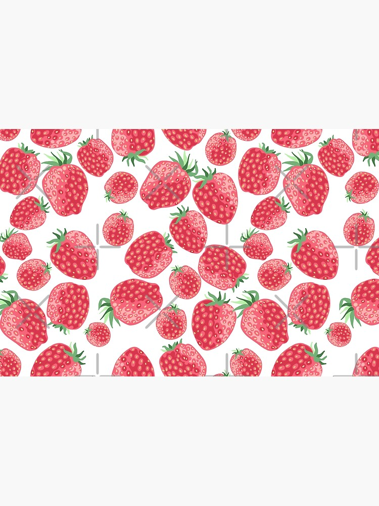 Strawberry pattern by PicajoArt