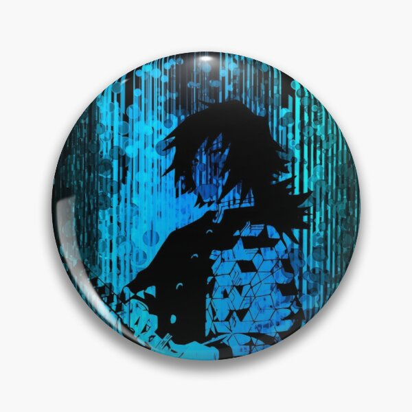 Water Hashira Dark Side Pin