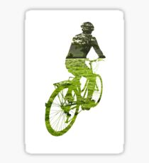 Green Transport 5 Sticker