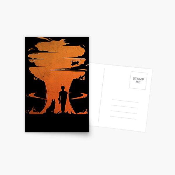 Nuclear war Postcard