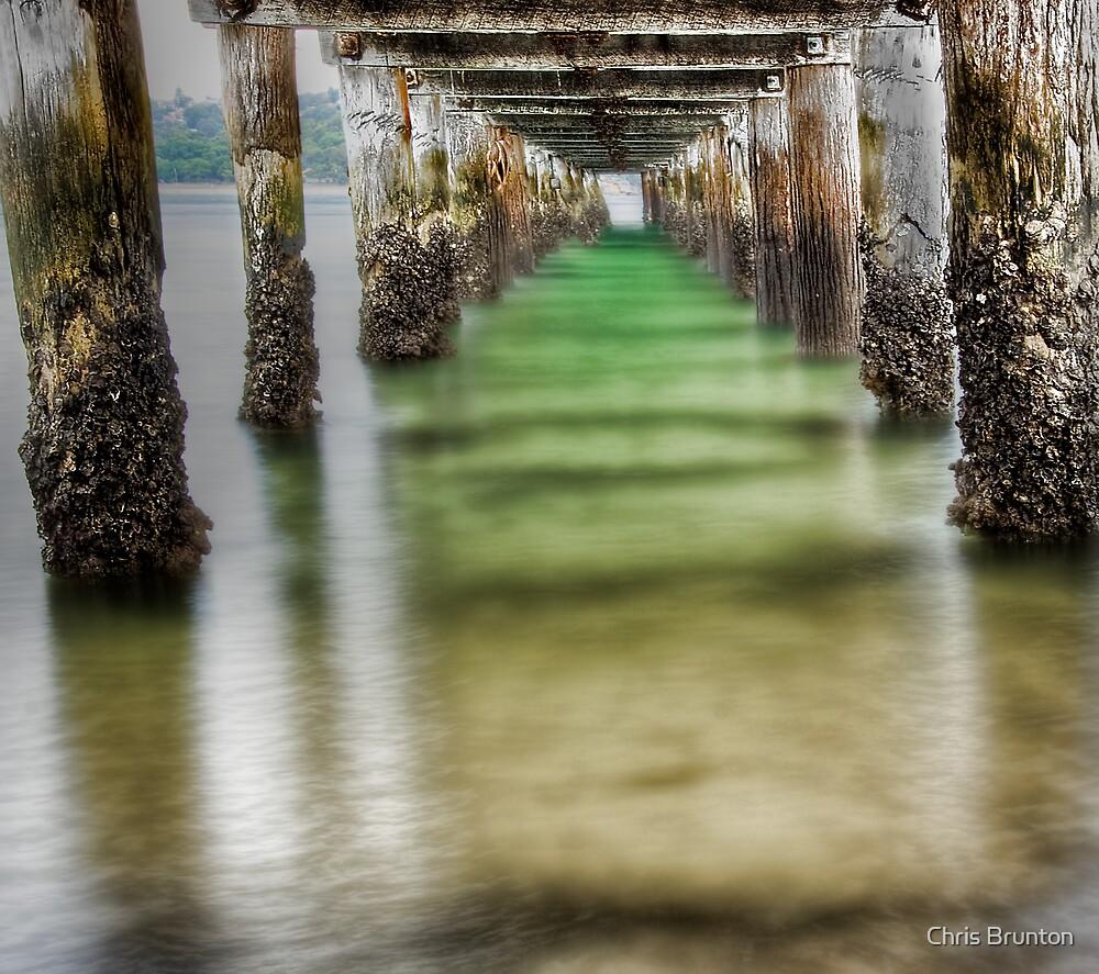 Under the boardwalk by Chris Brunton