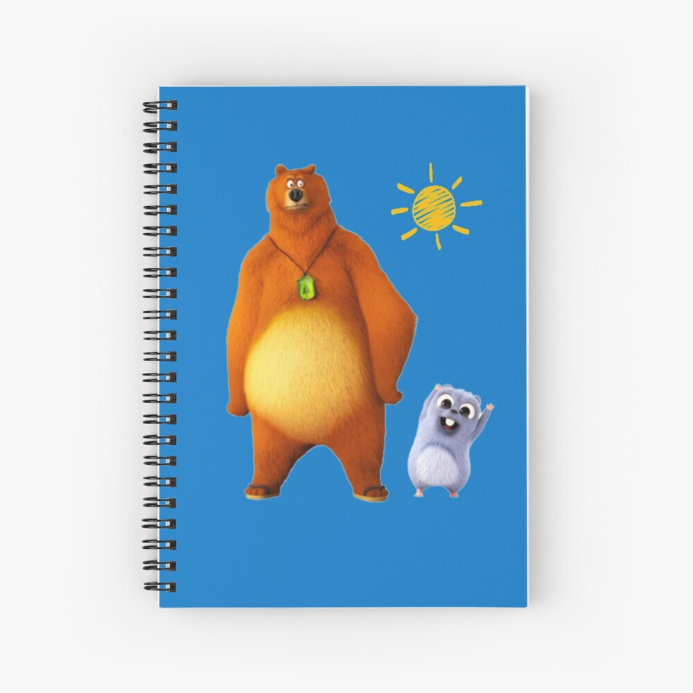 Grizzy and lemmings Spiral Notebook
