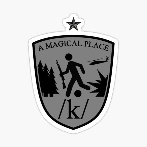 /K/ A Magical Place Insignia Sticker
