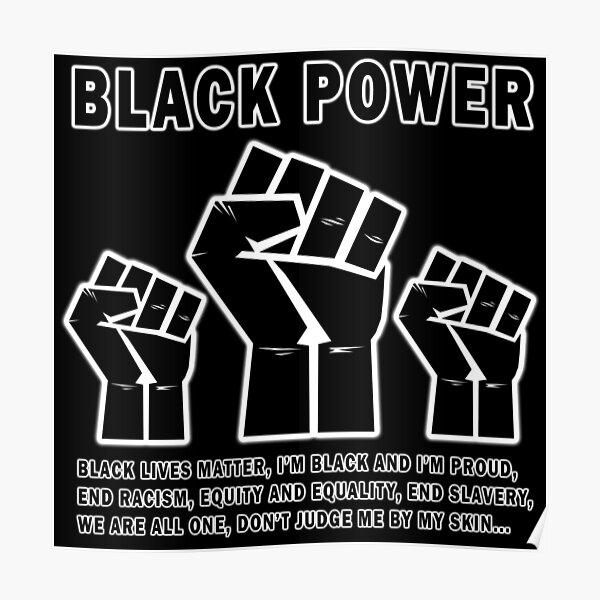 Black Power - BLM  Poster