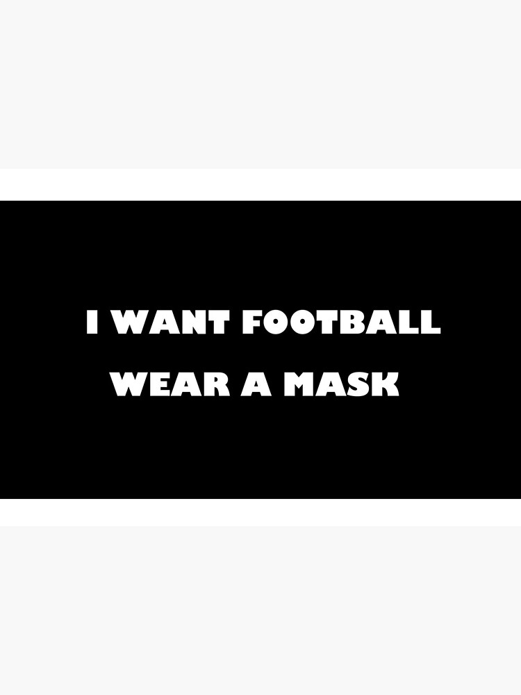 Football Face Mask by greilly16