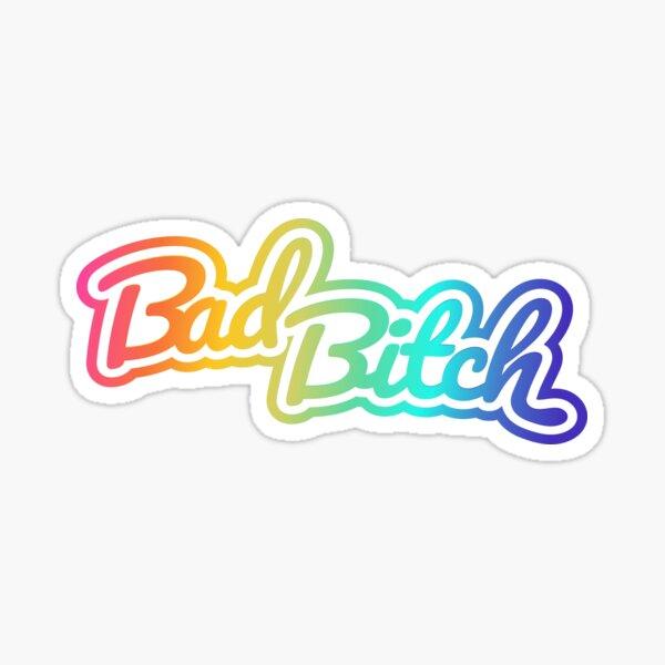 Lisa Frank - Bad Bitch (Retro 90's) Sticker