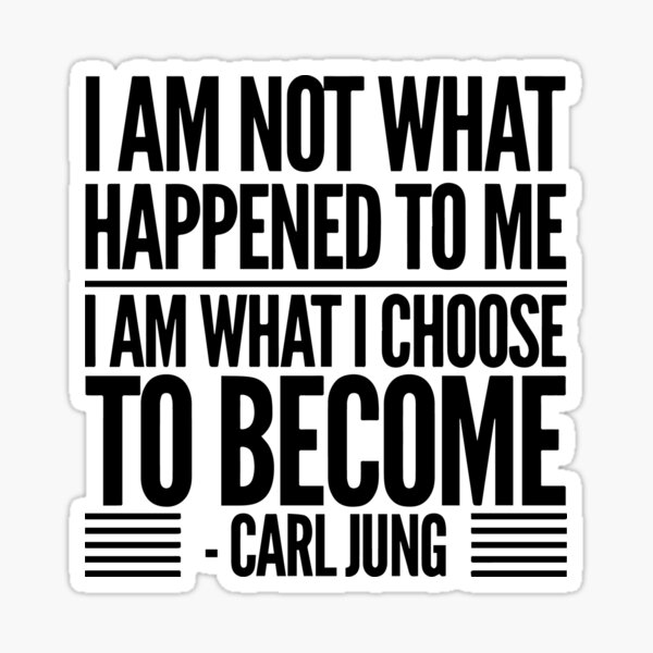 Carl Jung Quote Sticker