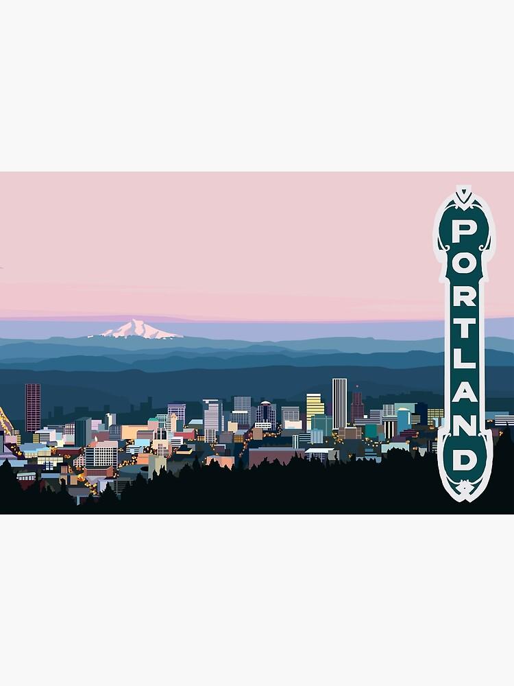 Portland Oregon by bymirabel