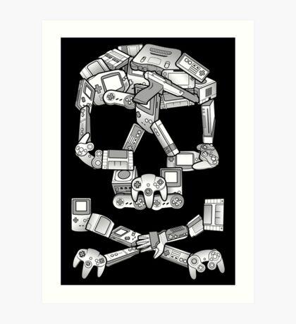 Game or Die Art Print