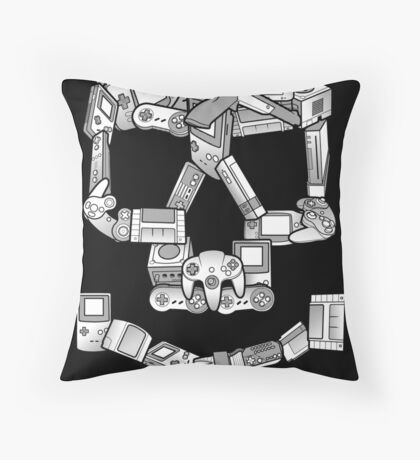 Game or Die Throw Pillow