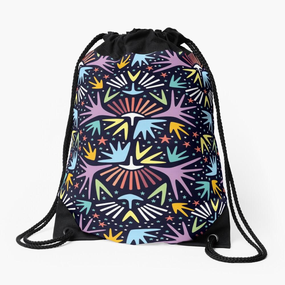 Miami Nights Drawstring Bag