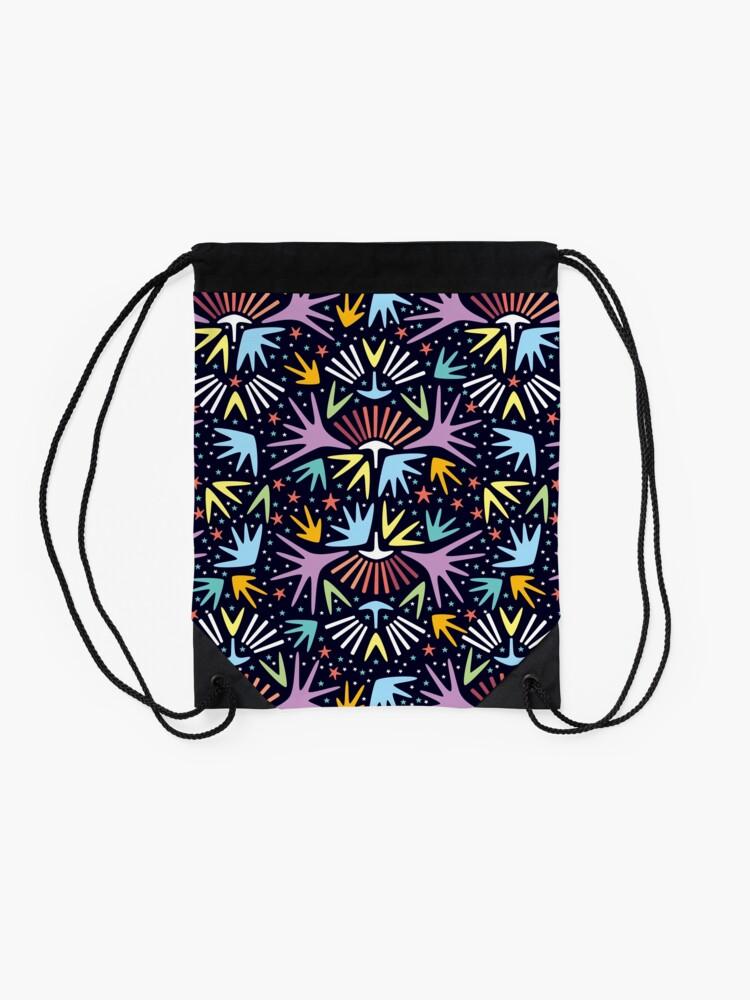 Alternate view of Miami Nights Drawstring Bag