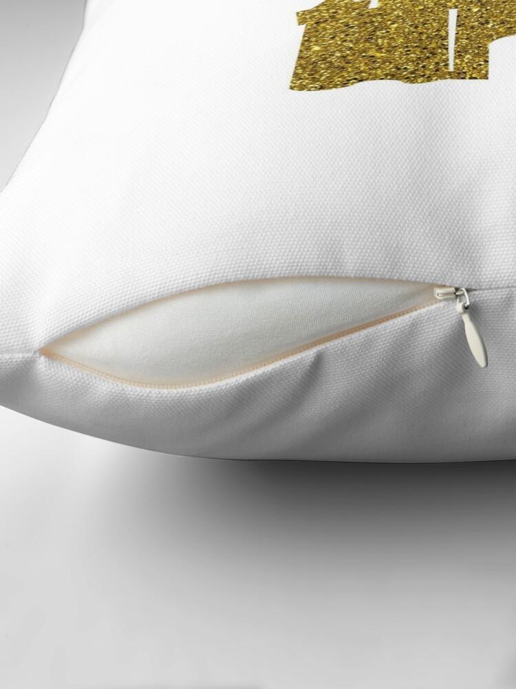 Alternate view of Gold Throw Pillow