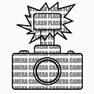 Camera SLR Flash_Grey by Phillip Shannon