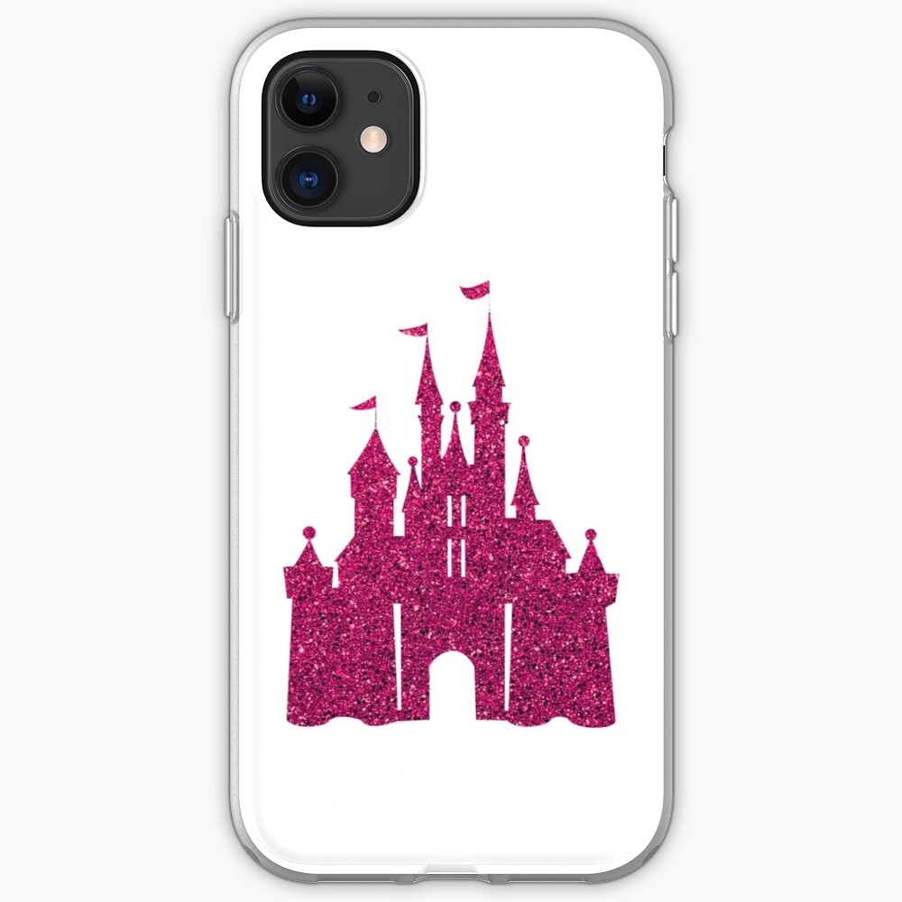 Pink Glitter Wishes iPhone Case & Cover