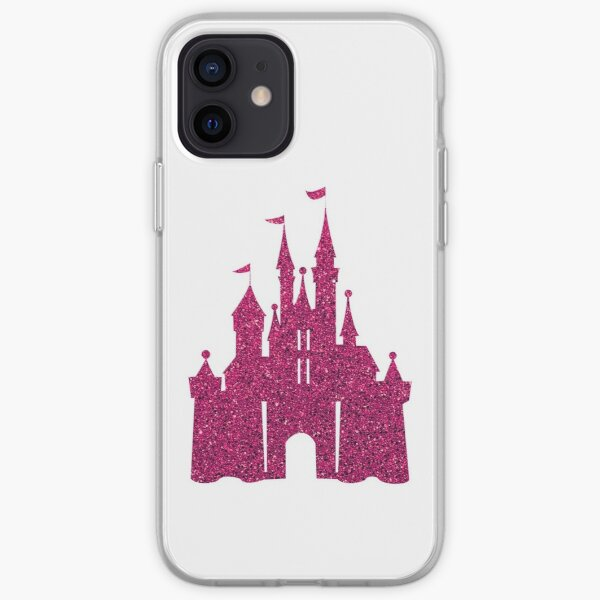 Pink Glitter Wishes iPhone Soft Case