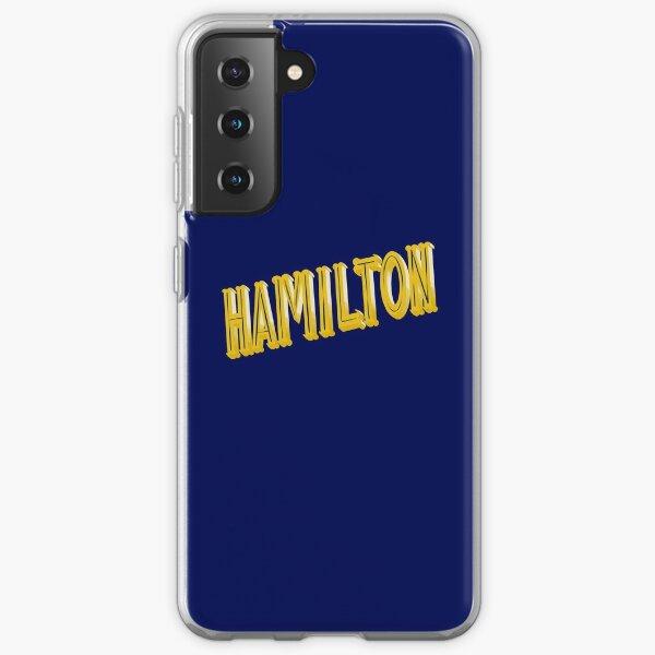 Hamilton Title Samsung Galaxy Soft Case