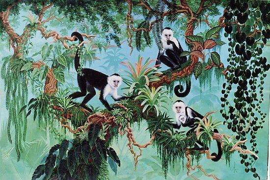 Monkeys by Jan Betts