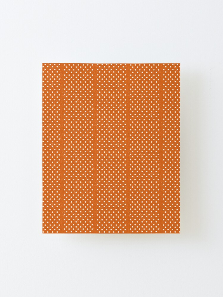 Alternate view of Orange Dots Mounted Print
