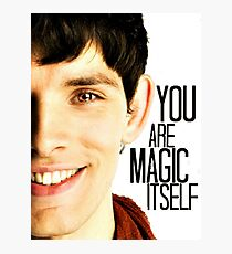 You are Magic Itself Photographic Print