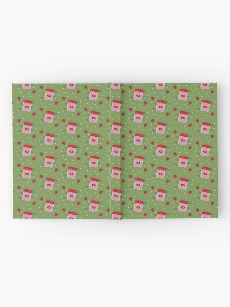 Alternate view of Strawberry Sticker Pack Hardcover Journal