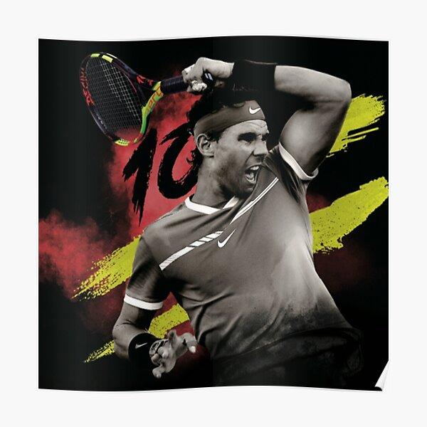 Rafael Nadal Sport Tennis Legend Póster