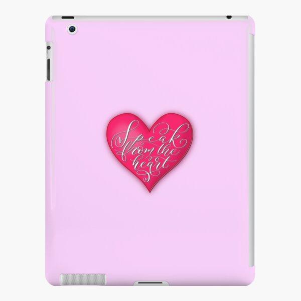 Speak from the heart  iPad Snap Case